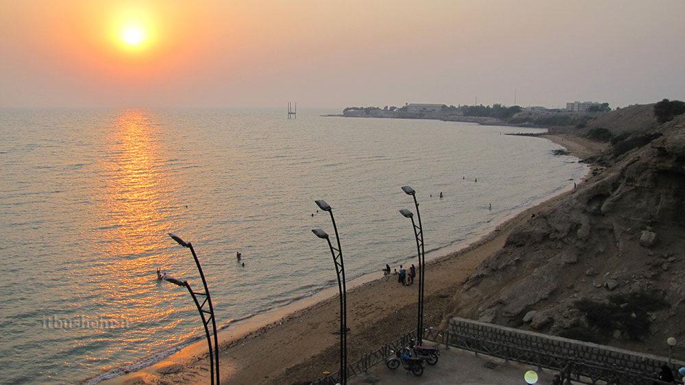 ساحل ریشهر بوشهر