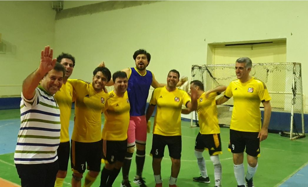 جشن قهرمانی تیم امور مالی گمرک بوشهر
