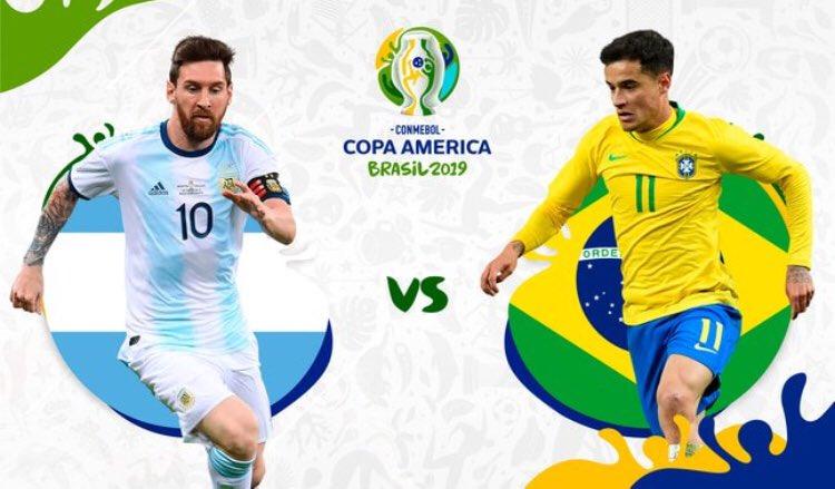 سوپر کلاسیکو 2019  نیمه نهایی کوپاآمریکا