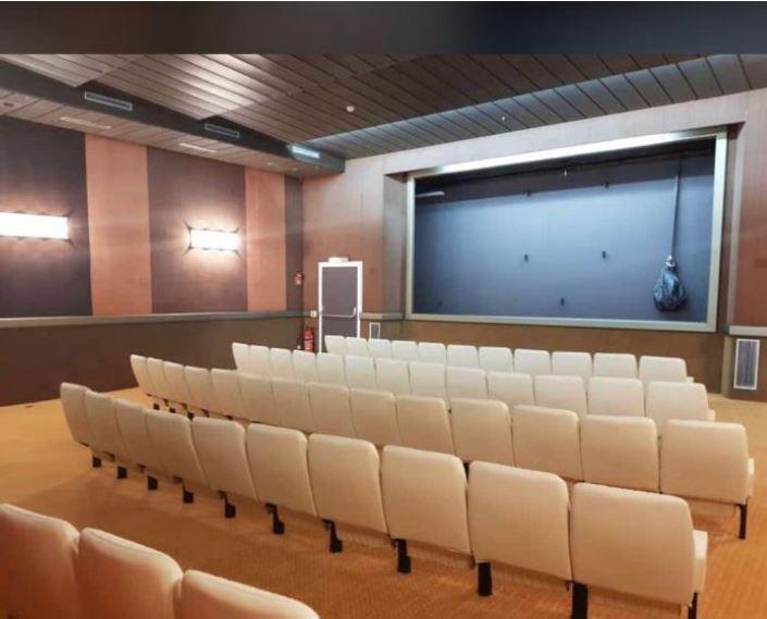 سالن سینما در کشتی رافایل و گرندفری