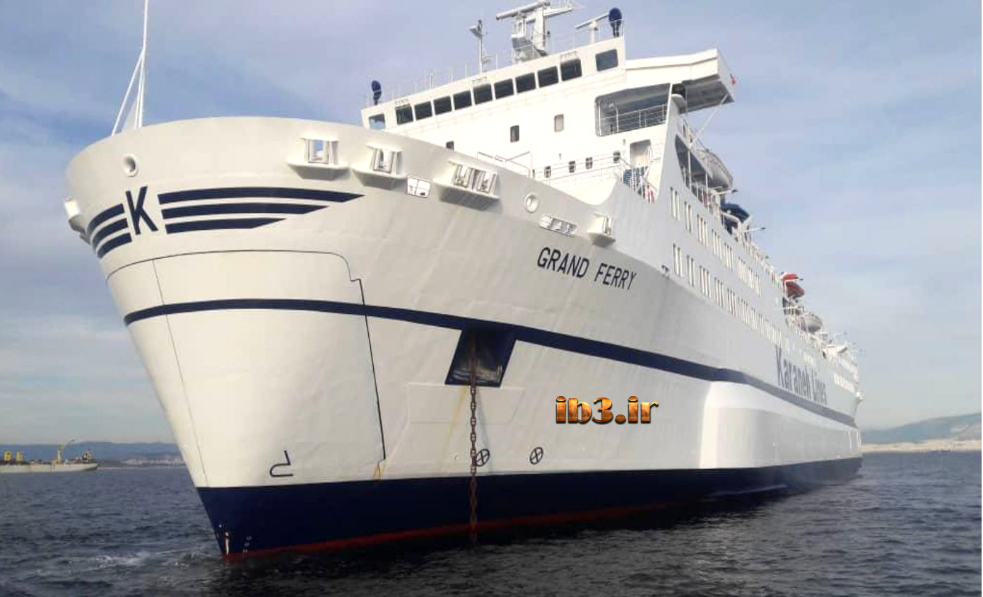 معرفی کشتی جدید گرندفری مسیر قطر بوشهر