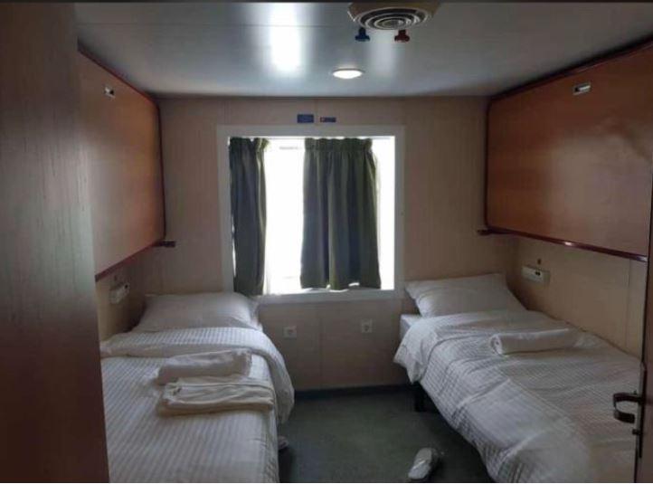اتاق مخصوص استراحت مسافران در کشتی های غول پیکر