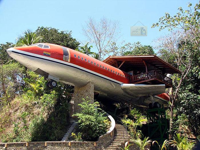 خانه درختی هواپیمایی