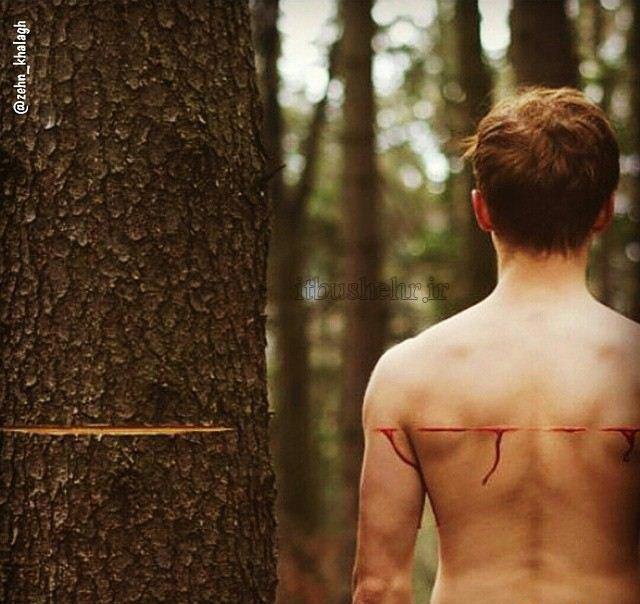 آسیب به خودمان با آسیب به طبیعت