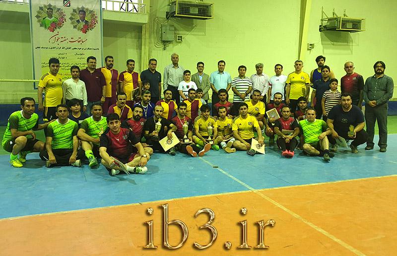 قهرمانی مسابقات گمرک بوشهر