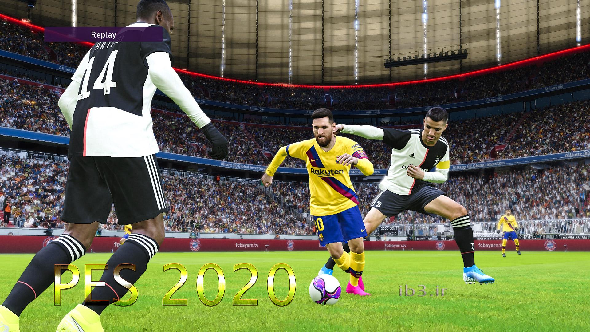 معرفی جدیدترین نسخه بازی فوتبال کامپیوتری pes2020